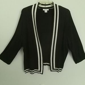 Reversable Sweater Black and White 2X